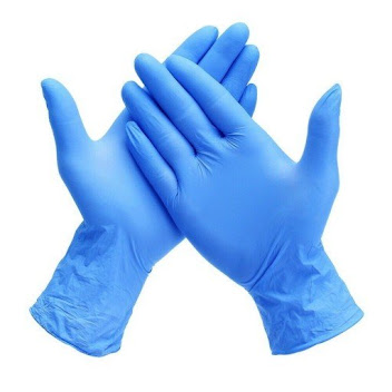 Blue & Purple Nitrile Gloves