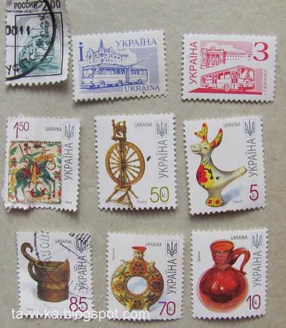 марки Украина