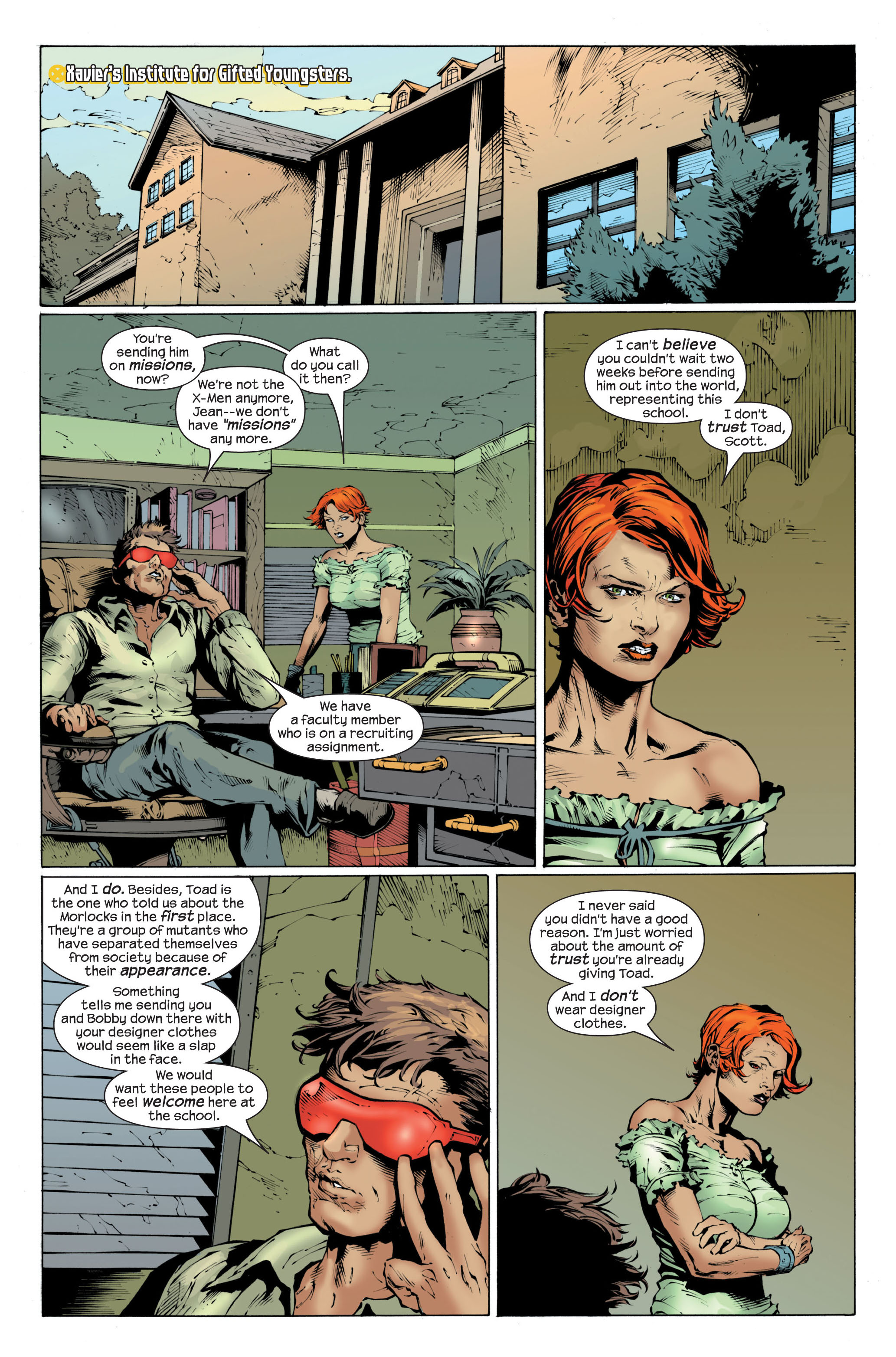 Read online Ultimate X-Men comic -  Issue #82 - 8