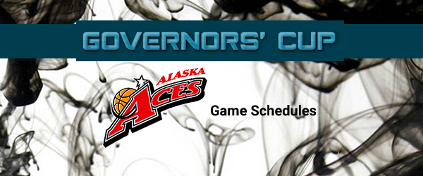 List of Alaska Aces Match Schedules 2017 PBA Governors' Cup