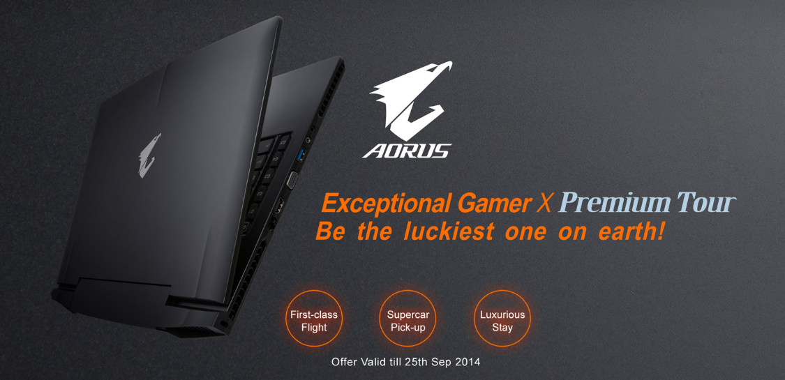 AORUS Luxury Mystery Tour