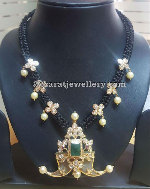 Different Style Black Dori Necklaces