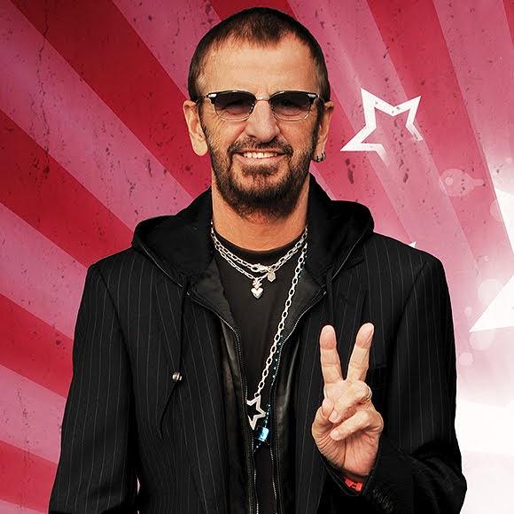 Ringo Starr au Hard Rock Cafe Nice pour célébrer la Paix et l'Amour