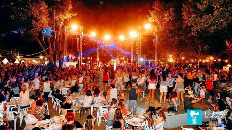 Με Στέλιο Ρόκκο ξεκινά την Τετάρτη η Γιορτή Κρασιού Αλεξανδρούπολης