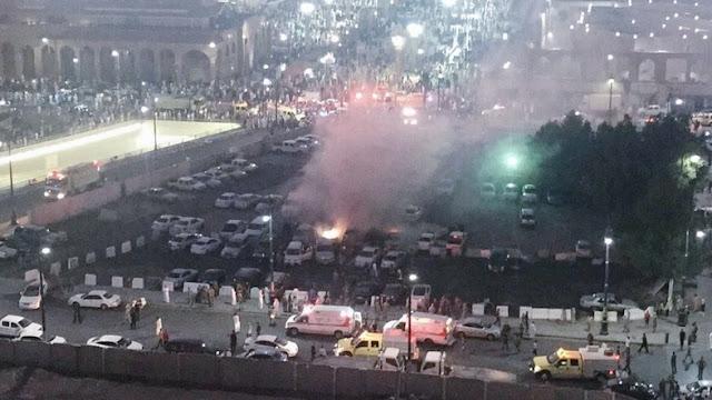 Jubir Saudi: Teroris ke arah Masjid Nabawi, saat dicegat petugas ia langsung meledakkan diri