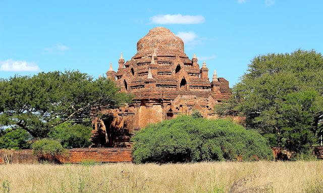 Temple, stupa et pagode de Bagan en Birmanie