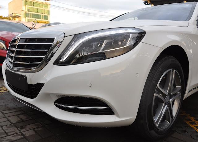 Mercedes S400 L luôn thu hút được sự quan tâm của giới sành xe