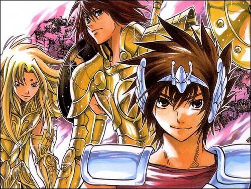 Saint Seiya: The Lost Canvas manga