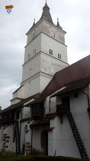 Iglesia fortificada de Harman