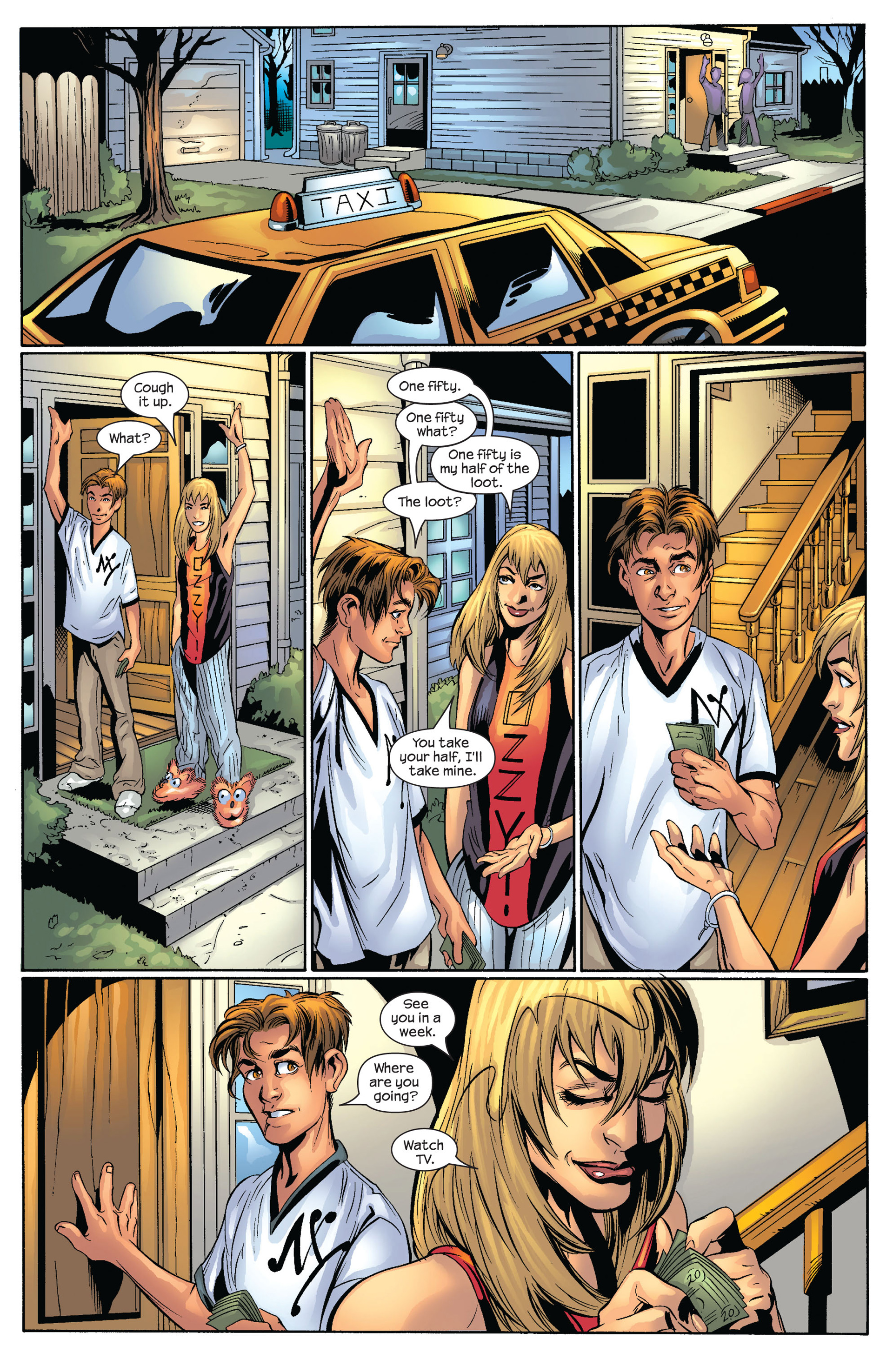 Read online Ultimate Spider-Man (2000) comic -  Issue #54 - 5