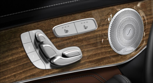 Hệ thống âm thanh Burmester trên Mercedes GLC 250 4MATIC 2019 chất lượng cao cấp