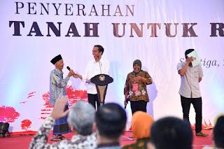 Presiden Jokowi Minta Jajarannya Jangan Hambat Proses Sertifikasi Tanah Masyarakat