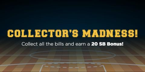 Image: March Madness is here, and Swagbucks is celebrating with Collector's Bills