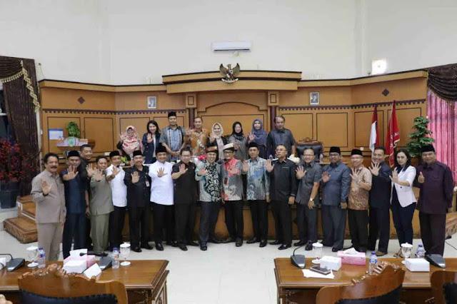 Audensi Pencegahan Korupsi DPRD Kota Tanjungpinang Bersama Deputi Bidang Pencegahan KPK