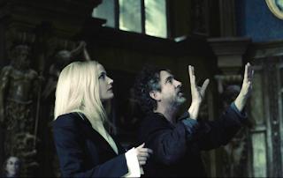 Tim Burton Eva Green Dark Shadows 2012