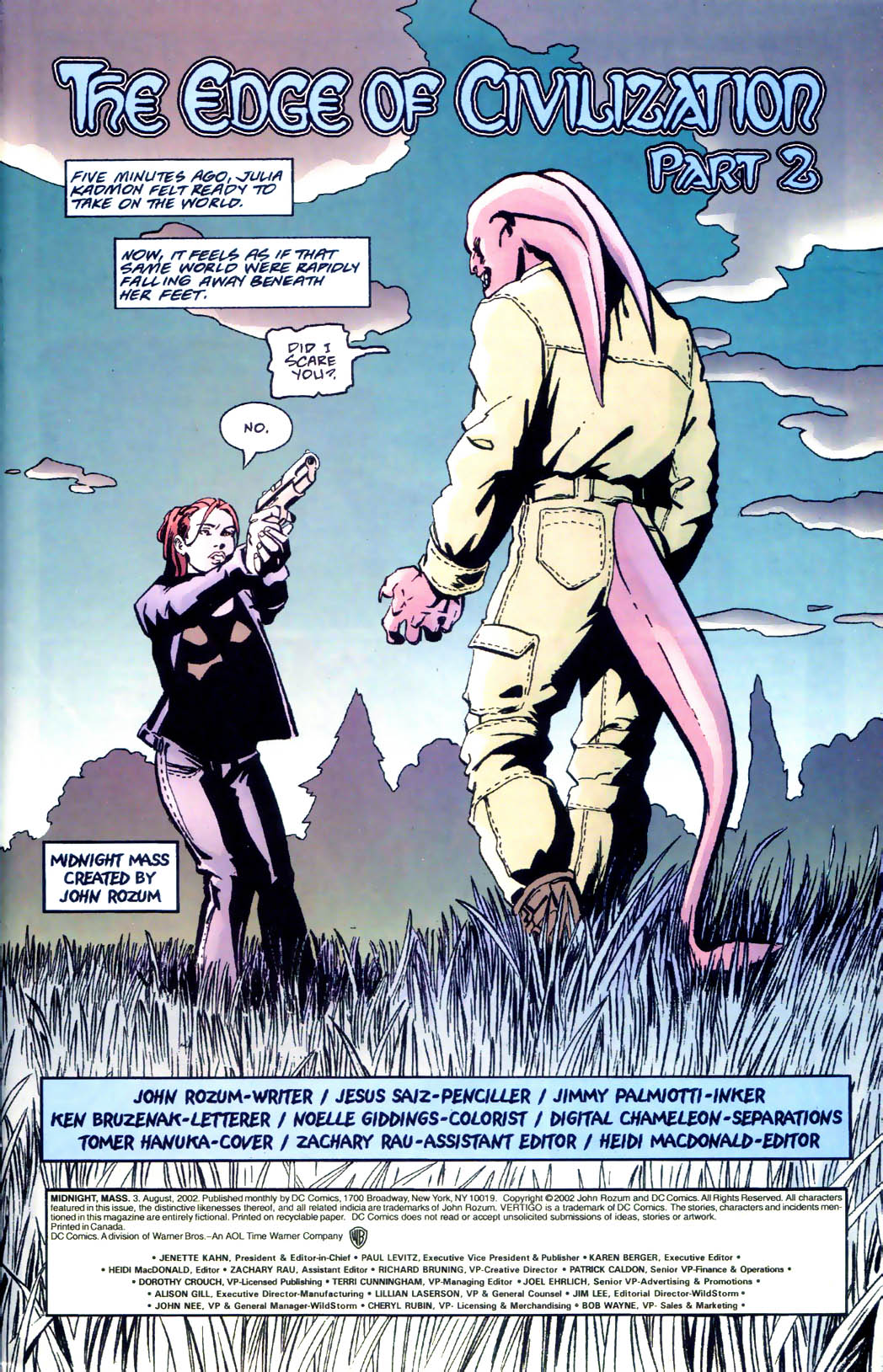 Read online Midnight, Mass comic -  Issue #3 - 2