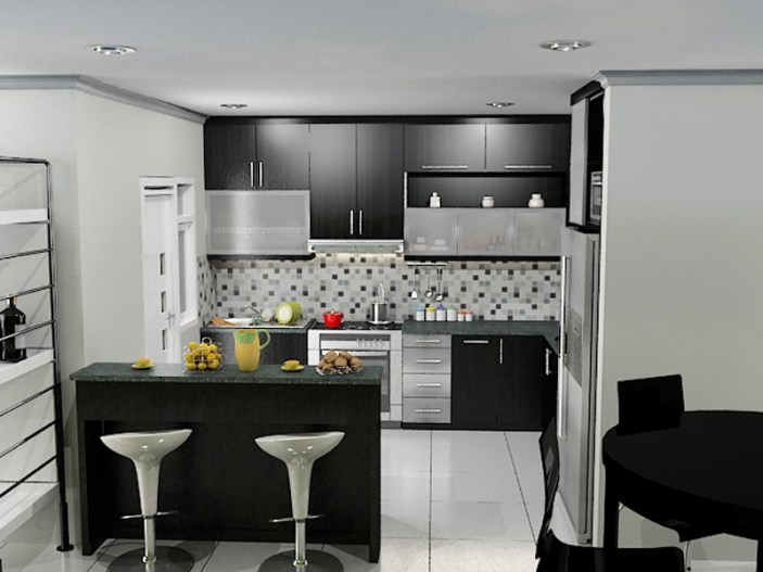 Rogoh Sedikit Kocek Saja Rubah Desain Dapur Minimalis Sederhana Jadi Lebih Elegan Wajib Baca