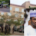 Images & VIDEO from Private Hospital where Yusuf Buhari is recuperating, following bike accident (SEE VIDEO)
