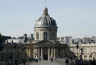 Instituto da França, sede da Academia Francesa, em Paris - Charles Perrault