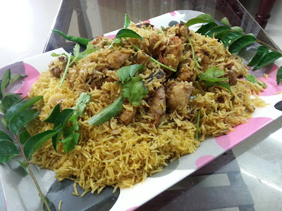 Simple ,Cooker ,Chicken , biriyani ,recipe