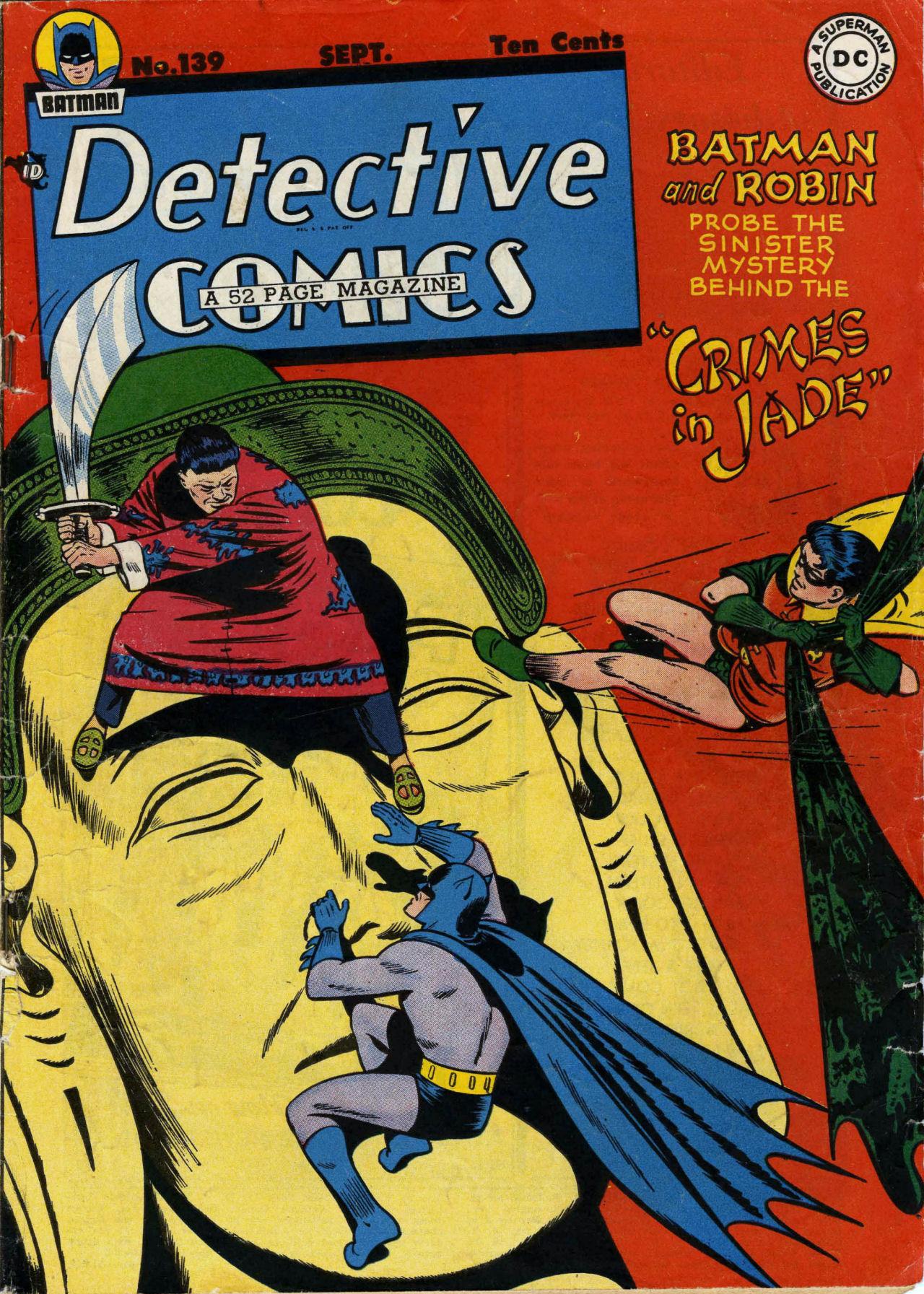 Detective Comics (1937) 139 Page 1