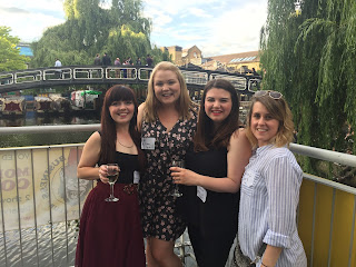 Girls, Friends, Bloggers, My Mummy Spam, Ami Roberts, Night out, Party, Ging out, Camden, outside, river, lock,