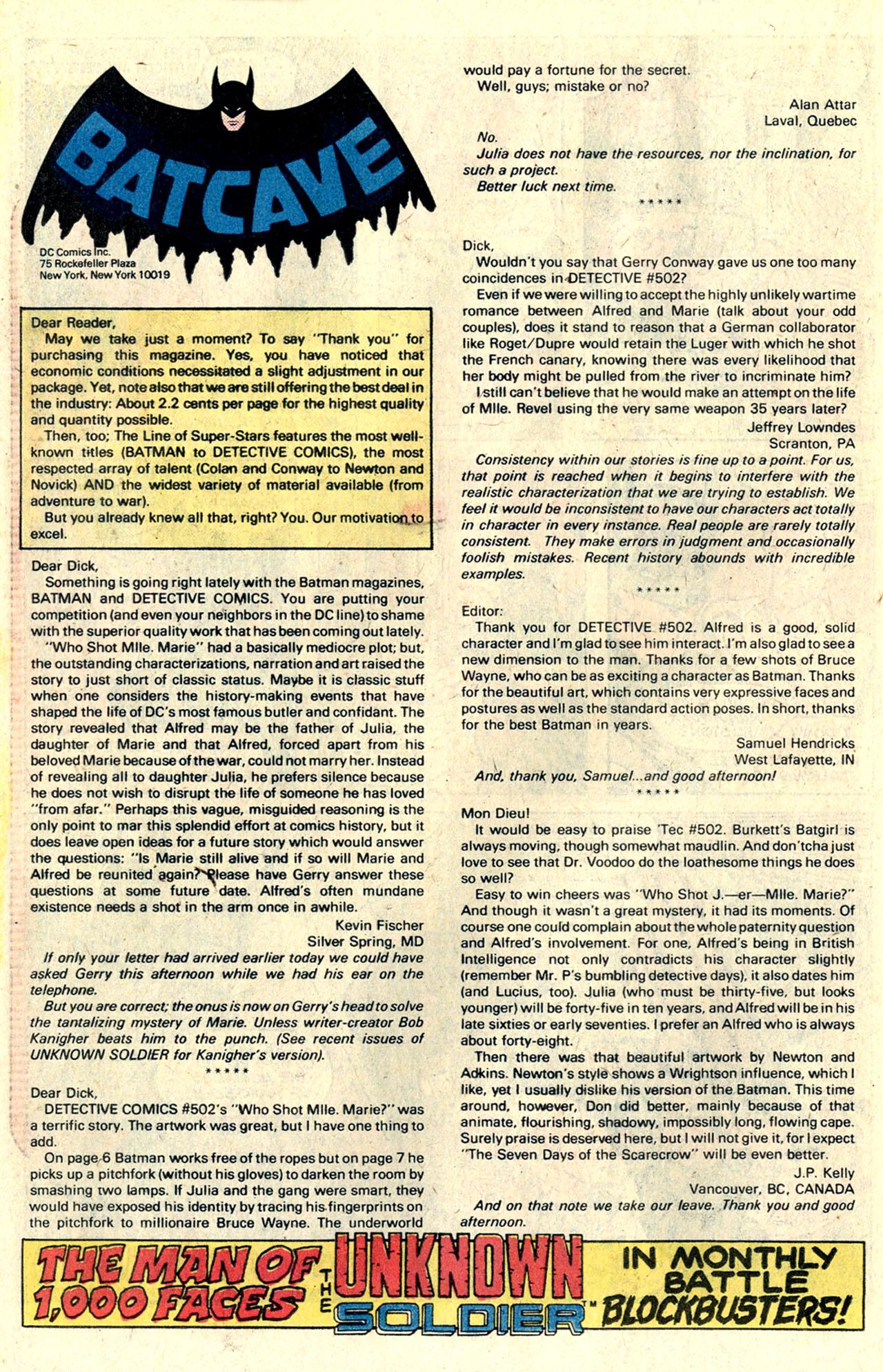 Detective Comics (1937) 507 Page 21