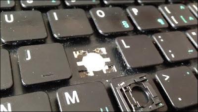 Remove Laptop Keys