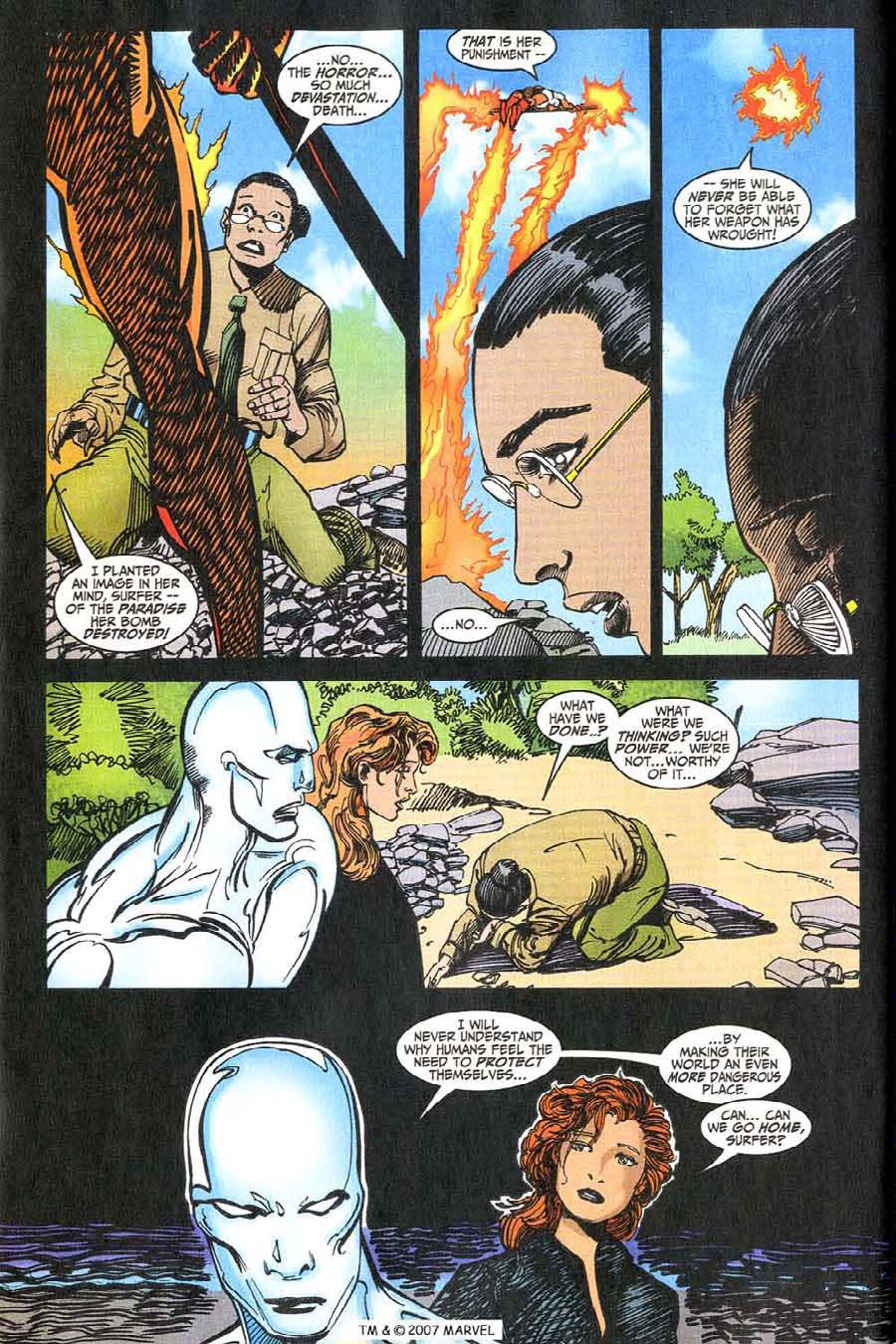 Read online Silver Surfer (1987) comic -  Issue #146 - 34