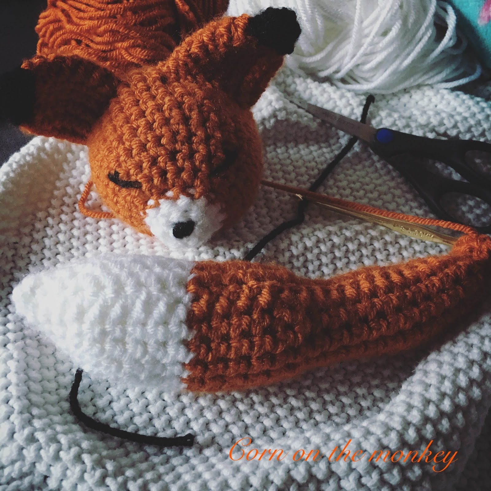 15 Crochet Fox Patterns - Crochet News | 1600x1600