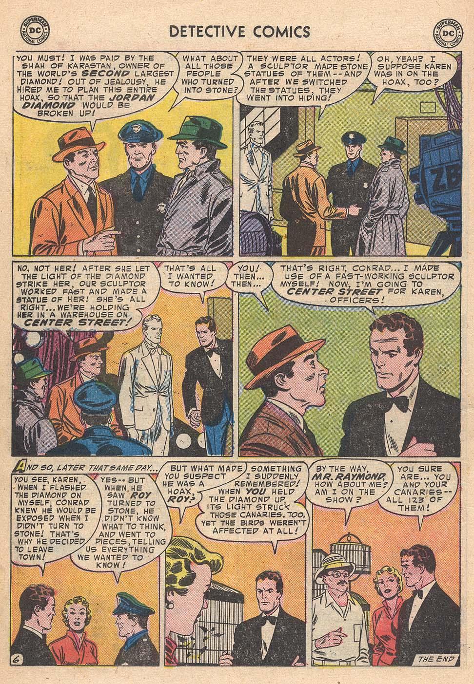 Read online Detective Comics (1937) comic -  Issue #210 - 22