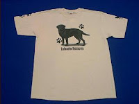 black lab t shirt
