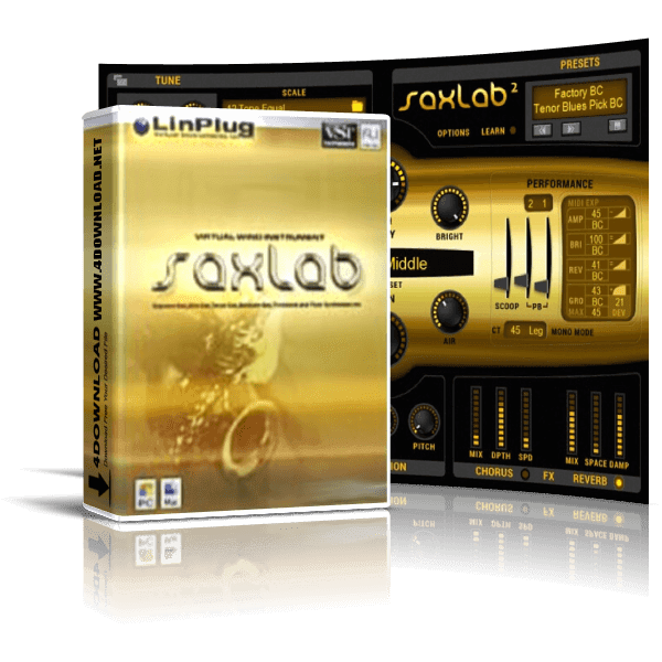 LinPlug - SaxLab v2.2.1 Full version