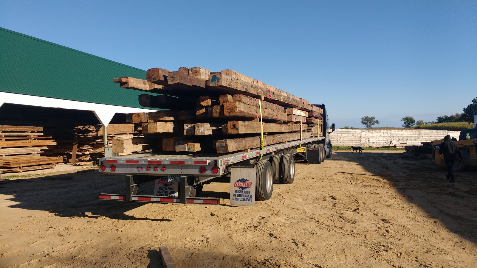 3x8 log siding hand hewn pine - We Scale Them Tally Them Scale And Tally Them Again Each Beam Is Marked And Inventoried When We Are Done Our Customers Get What They Asked For Which