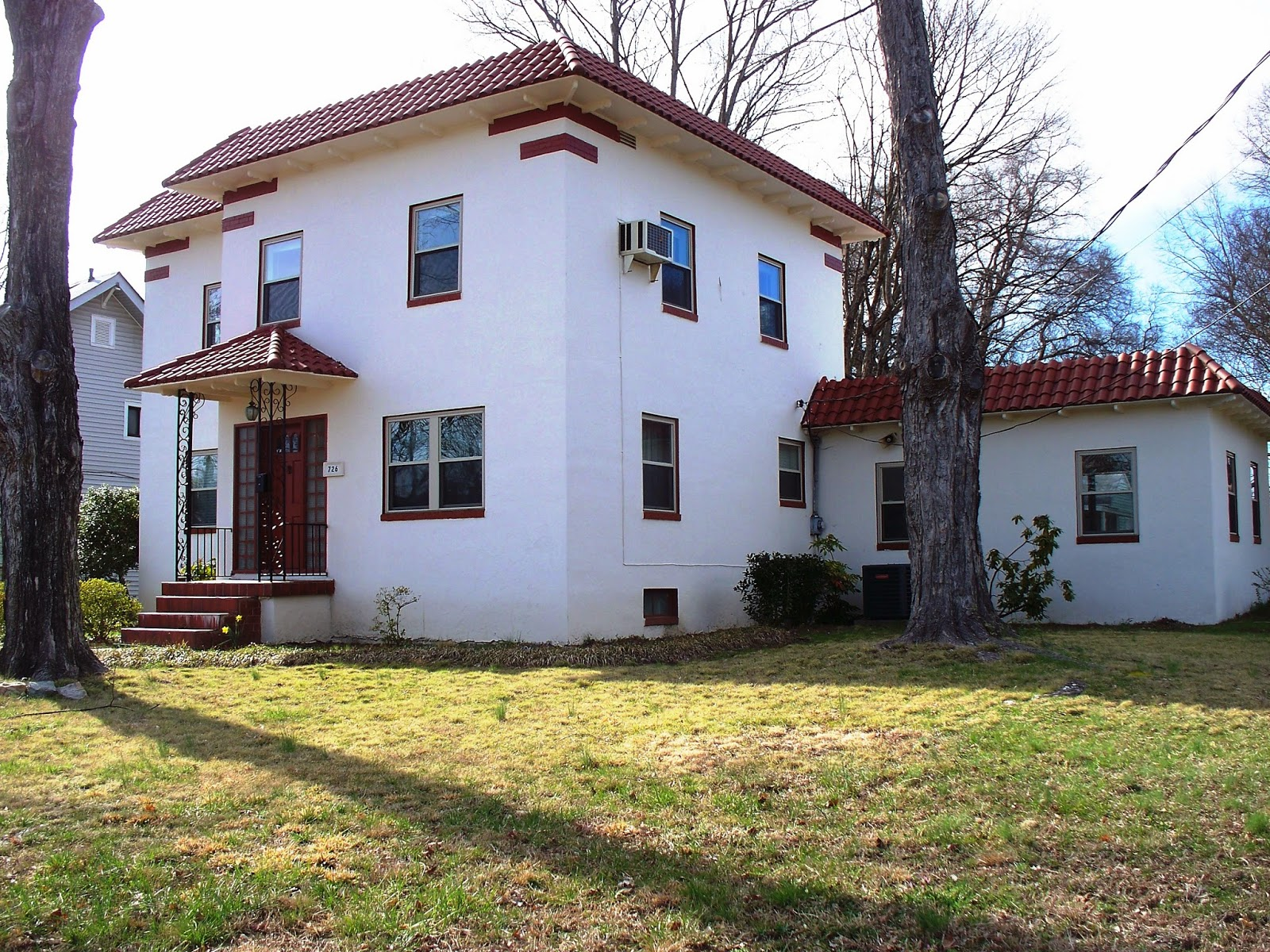 Uncategorized Spanish Stucco salisbury north carolina real estate fully restored c 1946 this 2 story circa 1800 square foot home is a solid stucco over brick and masonry spanish colonial revival hom