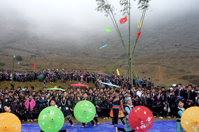 The spring festivals in Sapa