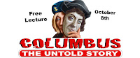 Columbus the Untold Story lecture Columbus Day 2017 Boalsburg PA