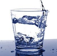 Hilangkan muka kusam dengan air putih