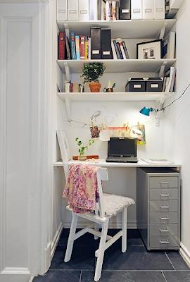 idéias para home office pequenos