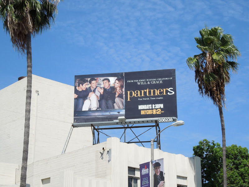 Partners TV billboard