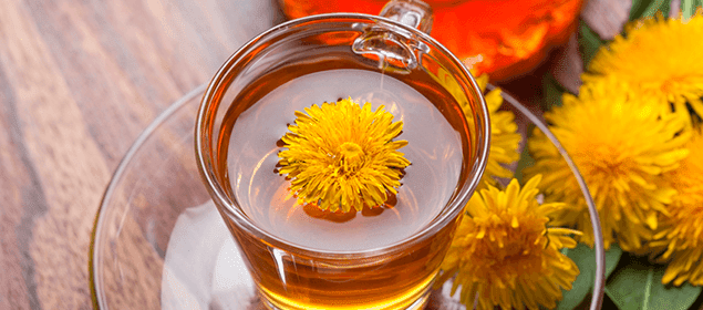 té diurético, depurativo y adelgazante