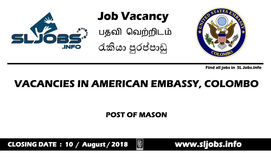 Embassy Vacancy