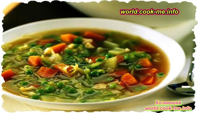 Суп с сельдереем и морковью