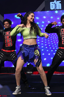 Sunny Leone Dancing on stage At Rogue Movie Audio Music Launch ~  277.JPG