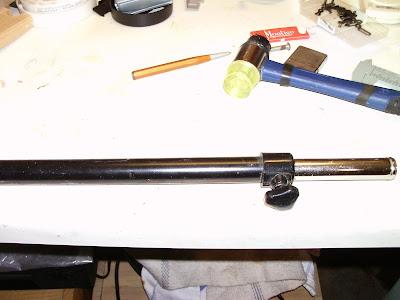 Querstange Feststellschraube Hammer