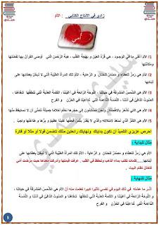6 - زادي في الإنتاج الكتابي لمناظرة السيزيام