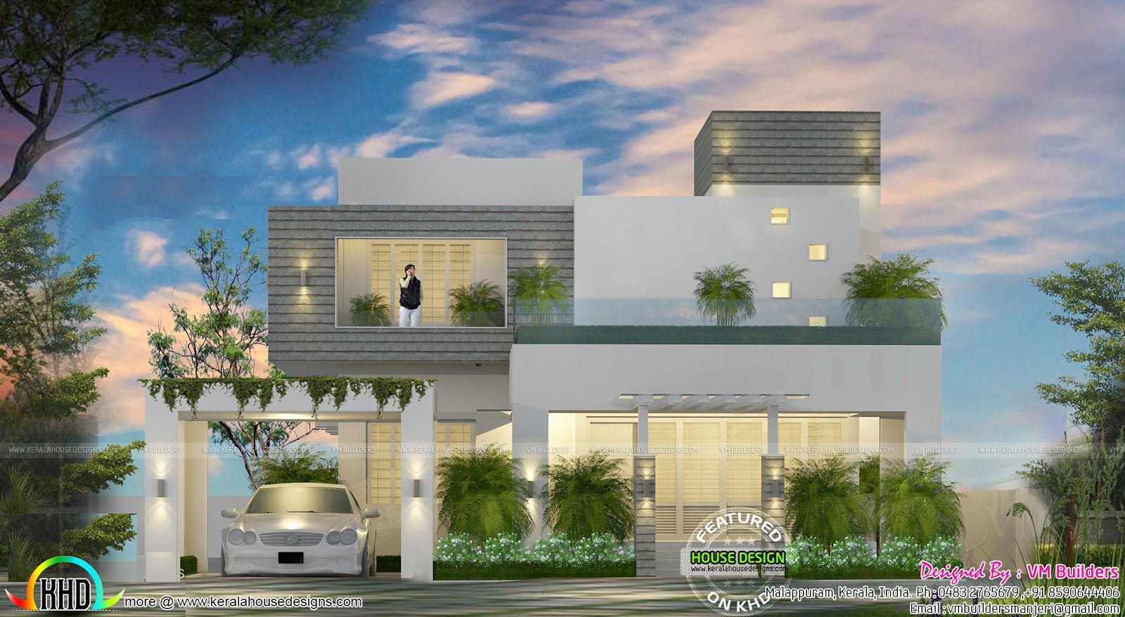 House design under 50 lakhs - Design Style Contemporary Estimated Cost 50 Lakhs Including Interior 75555 May Change Time To Time Place To Place Plot Area 11 Cent
