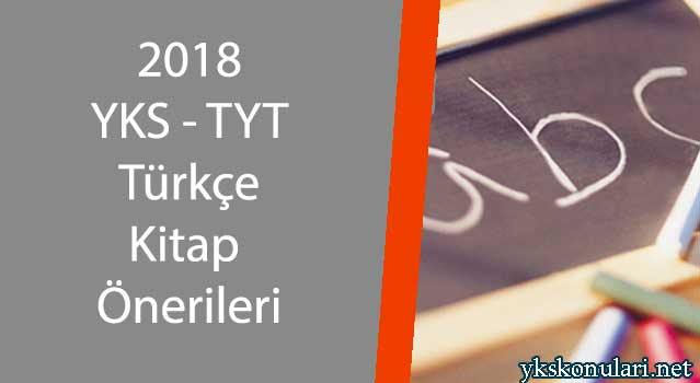 2018 yks tyt türkçe kitap önerileri