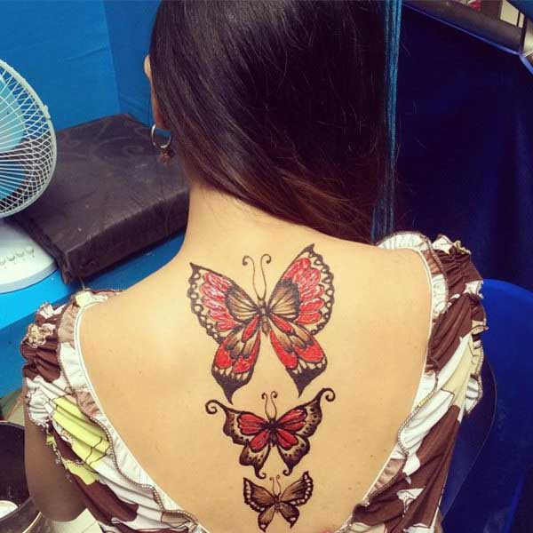 butterfly tattoo designs with names