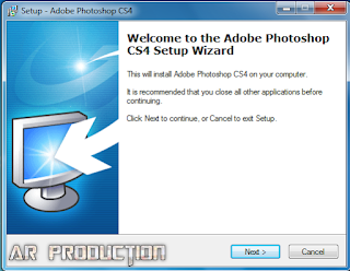 Pemasangan Adobe Photoshop CS4 Lite tahap dua